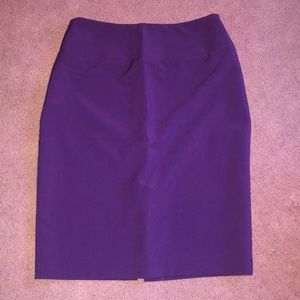 Purple Business Skirt